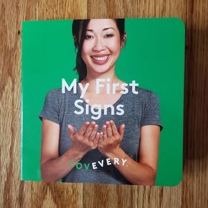 NWOT Lovevery My First Signs Book